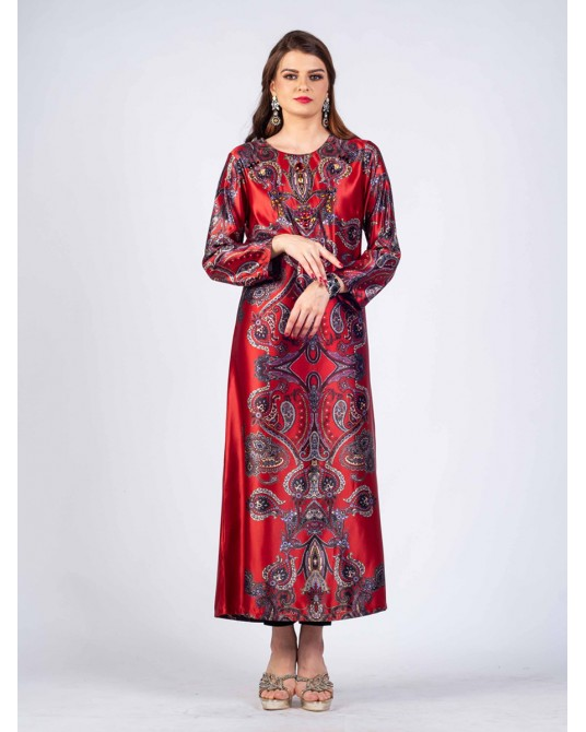 Ruby Paisley Dress