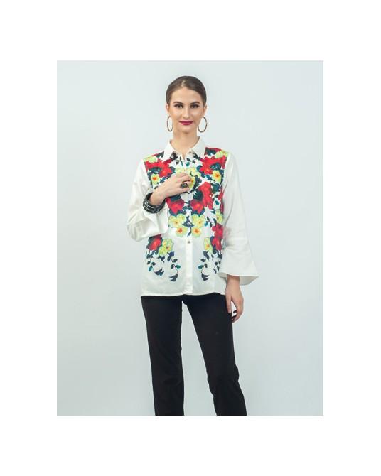 Vorenna Bell Sleeve Shirt