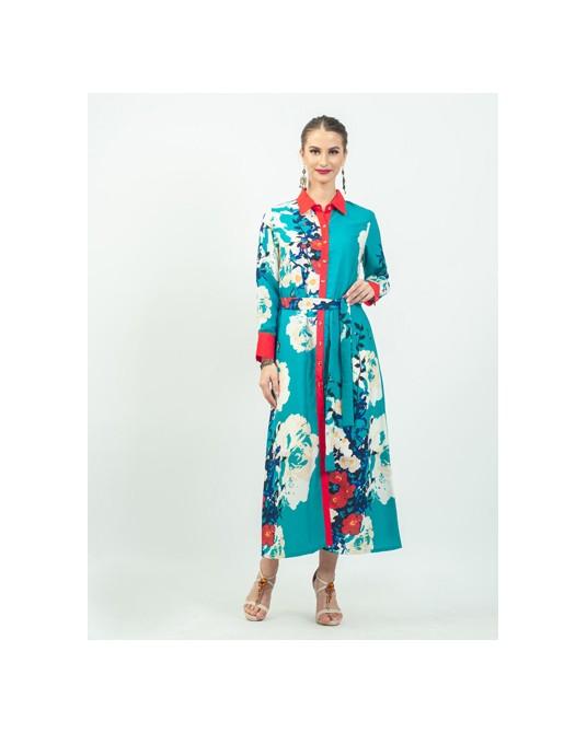 Linea Tosca Flower Dress