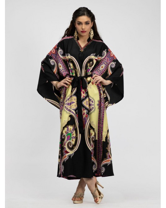 Royale Ustuni Kaftan Dress