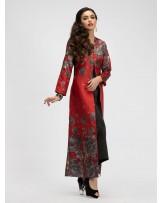 Scarlet Paisley Jacket