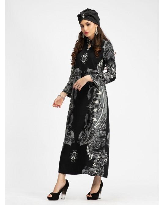 Duman Paisley Maxi Dress