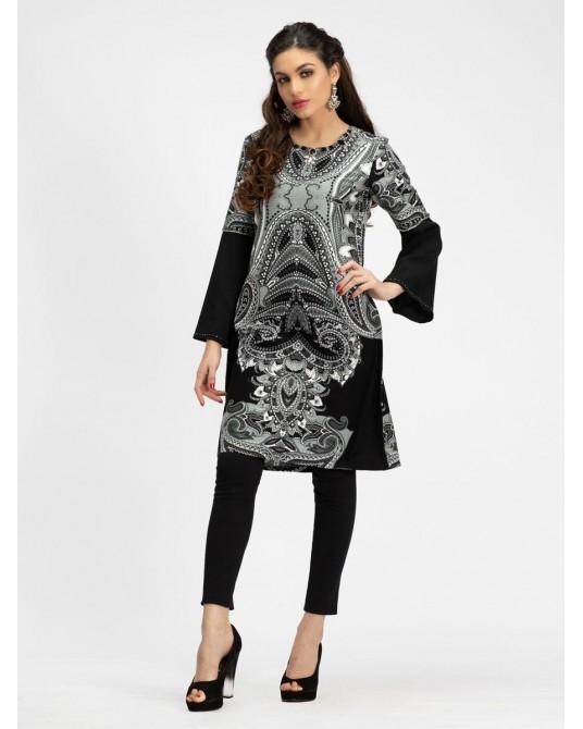 Duman Paisley Midi Dress