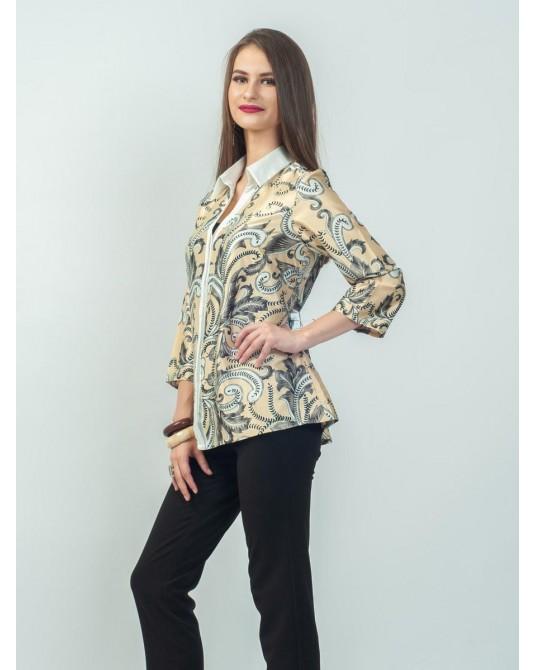 Ayana Golden Paisley Shirt