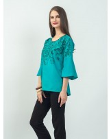 Celline Bell Sleeve Blouse