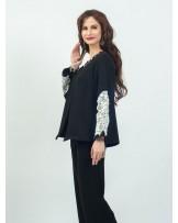 Seanna Black Applique Jacket