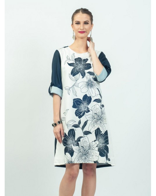 Mimosa Lily Winter Dress