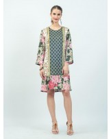 Mimosa Peony Winter Dress
