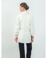 Maxima Lace Sleeve Shirt
