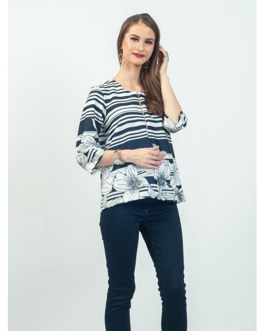 Callista Lily Stripes Blouse