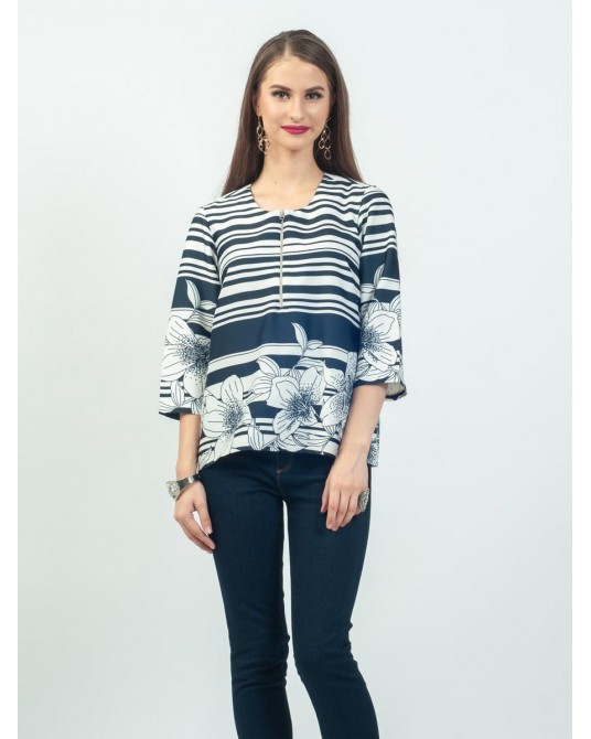 Callista Lily Stripes Blouse