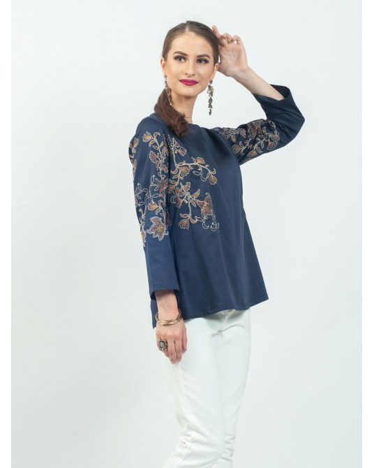 Celline Prussian Blouse