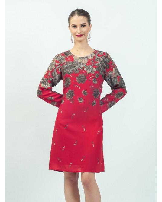 Mimosa Garden Paisley Dress