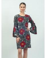 Mimosa Peony Bloom Dress