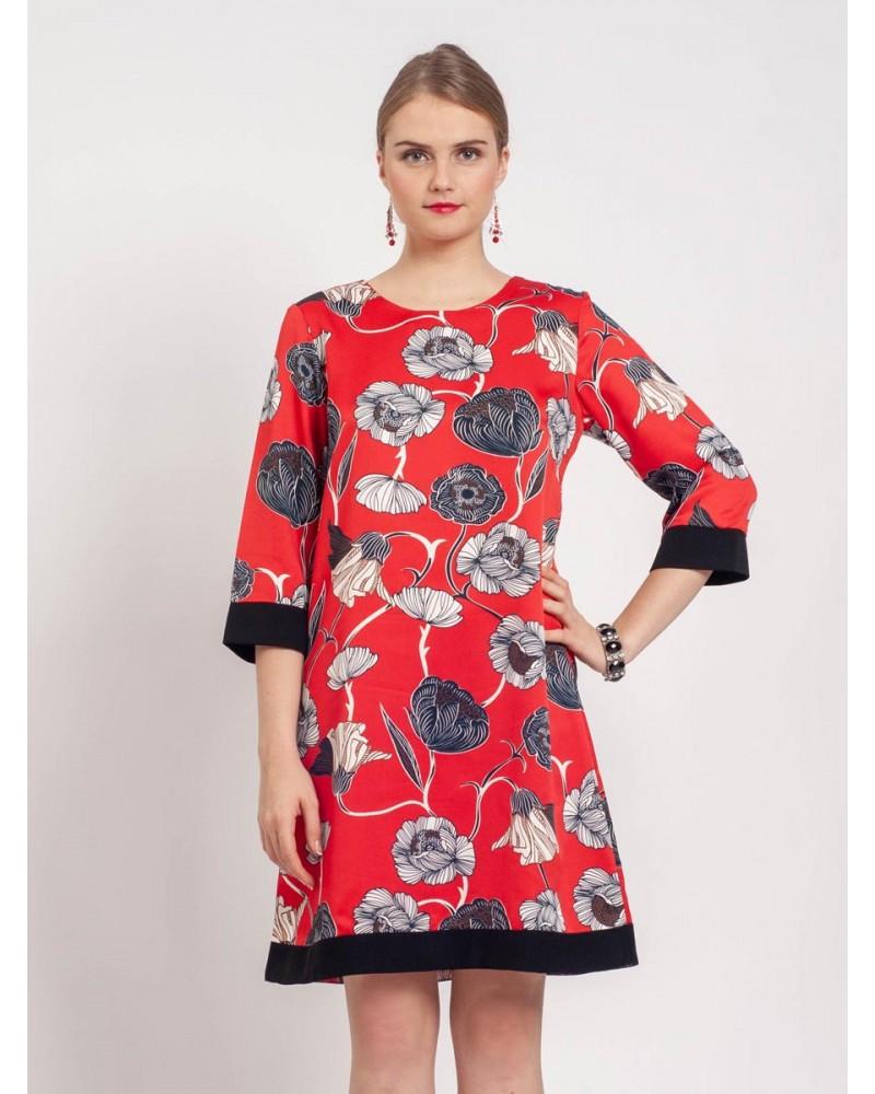 Mimosa Scarlet Dress