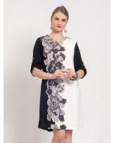 Mabelle Noire Dress