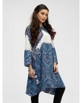 Bohemian Aqua  Midi Dress