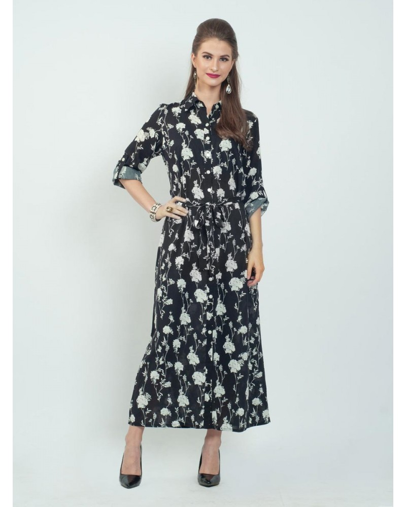 Linea Floral Shade Dress