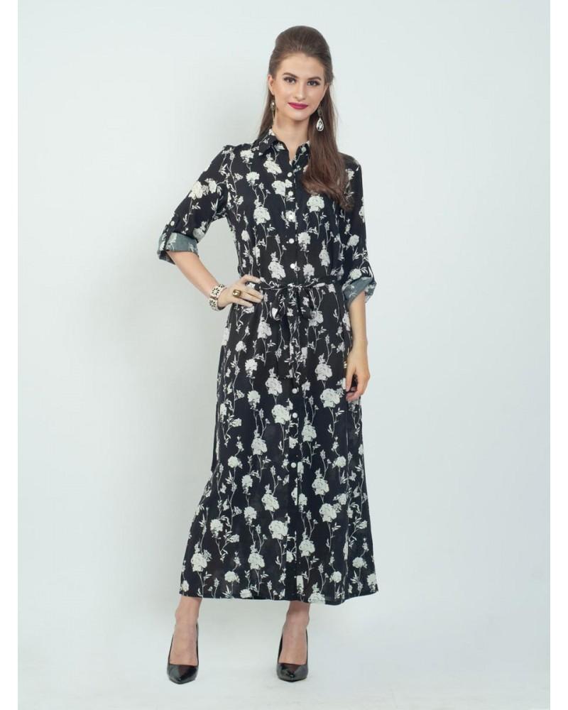 Linea Floral Shade Dress