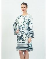 Mimosa Lily Stripes Dress