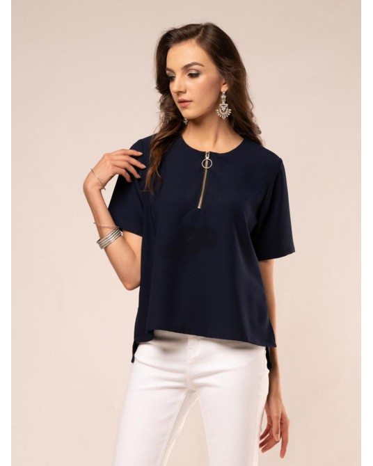 Avalee Coraless Ziper Blouse