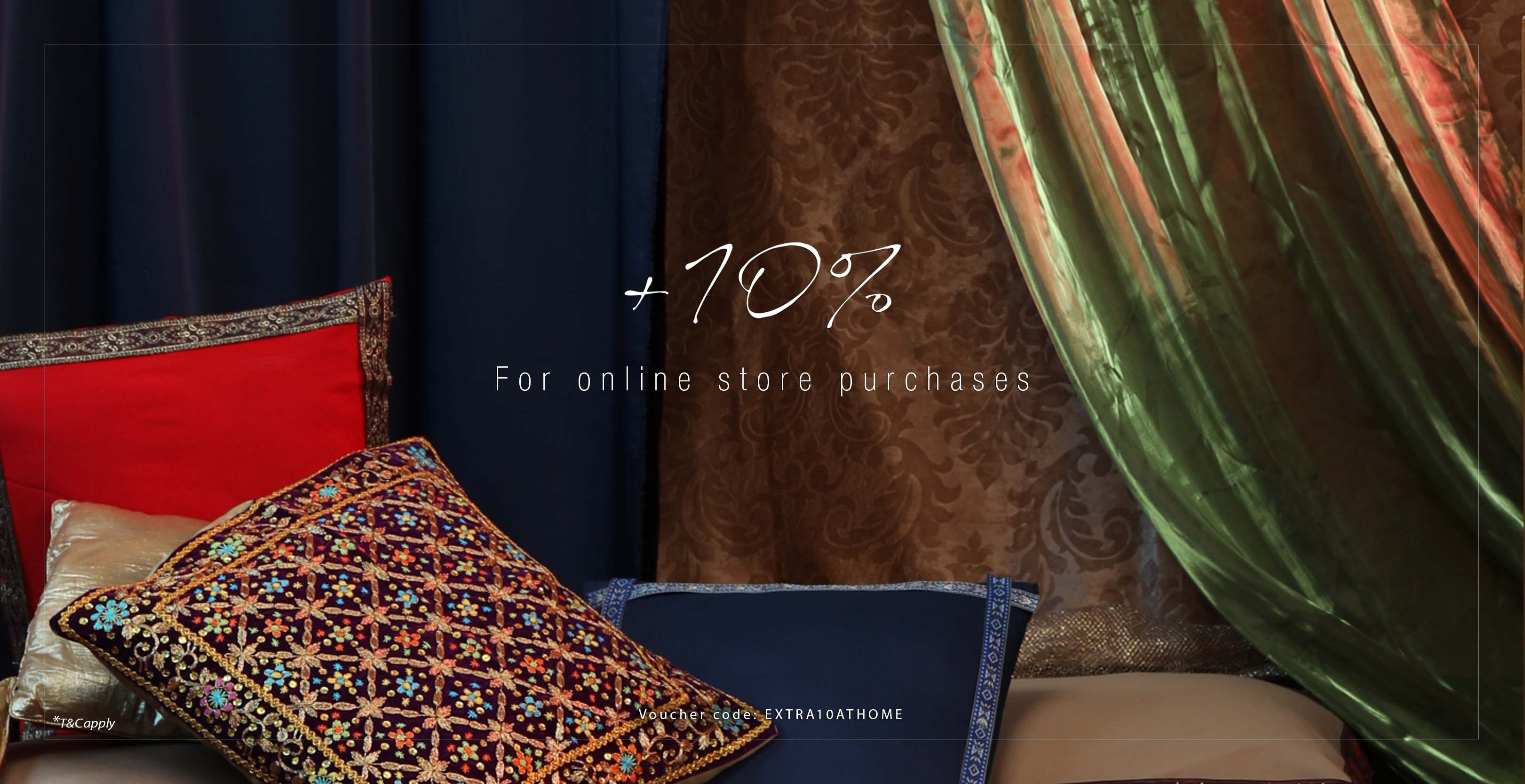 Extra 10% OFF - Online store pruchase only